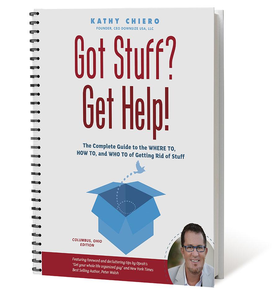 Got Stuff Get Help Spiral Bound Book